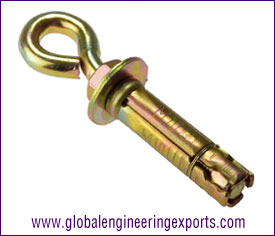 Eye Bolt m6 anchor fasteners manufacturers exporters suppliers in india