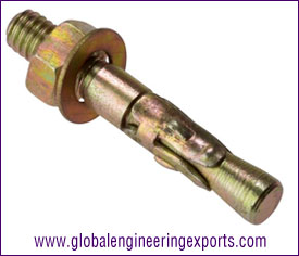 Through Bolt anchor fasteners manufacturers exporters suppliers in india