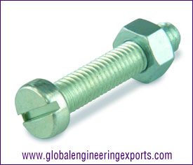 M6 Machine Screw Zinc Plated manufacturers exporters suppliers in india punjab ludhiana