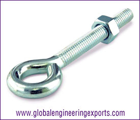 Wire Eye Bolt with hex bolts, washers manufacturers exporters suppliers in india punjab ludhiana