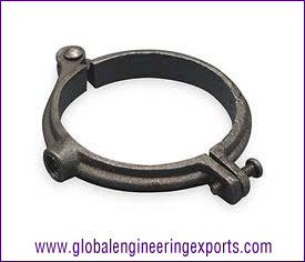 Pipe Clamp Casting manufacturers exporters suppliers in india punjab ludhiana