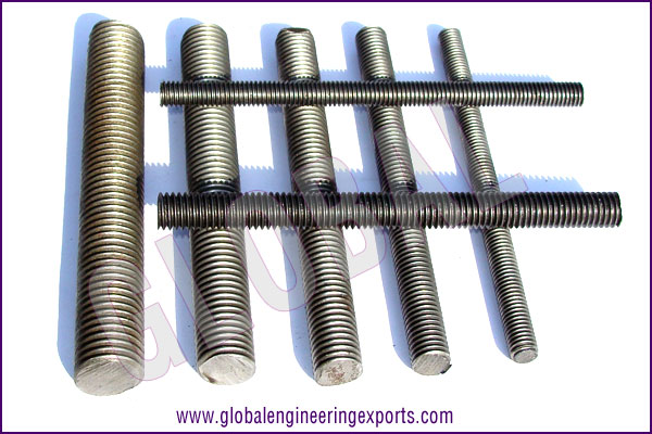 thread bars threaded rods carbon steel threaded rods manufacturers exporters suppliers in india punjab ludhiana